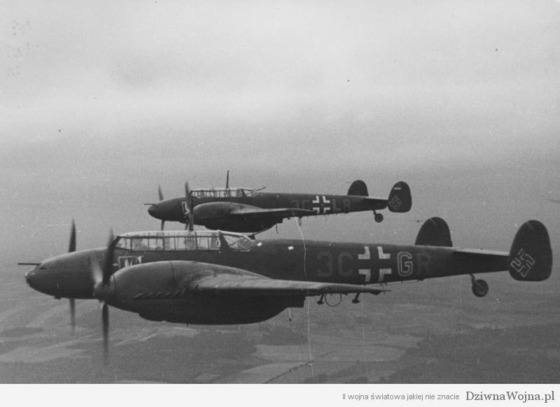 Flugzeuge Messerschmitt Me 110