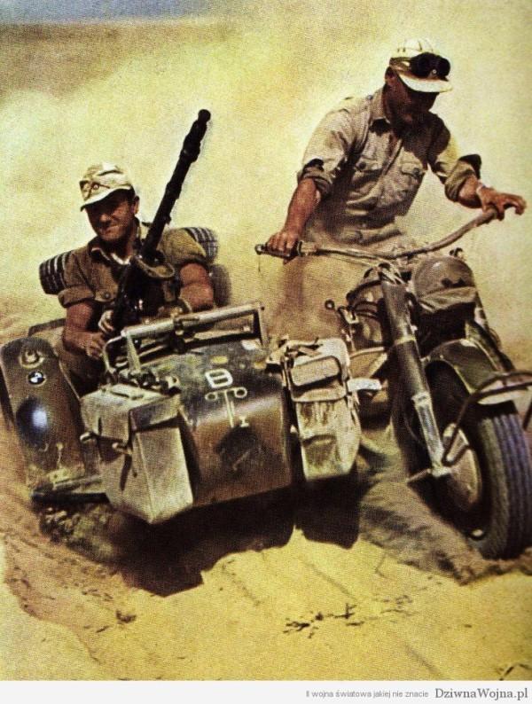 Motocykl BMW R 75 Sahara