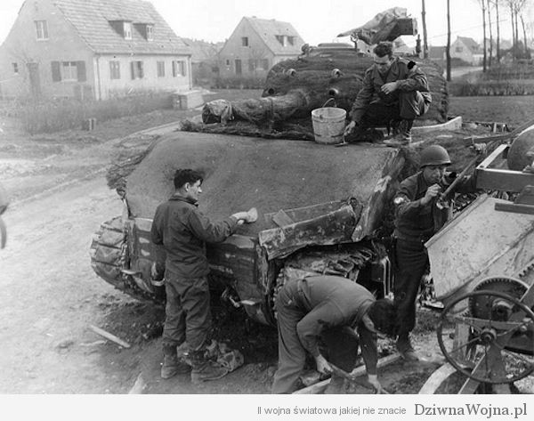 Betonowany M4 Sherman