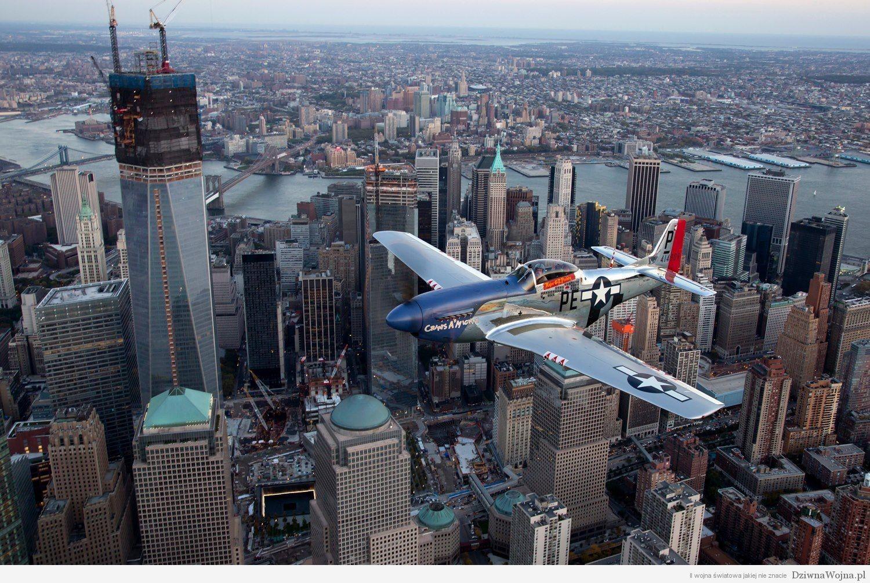 Mustang nad Nowym Jorkiem