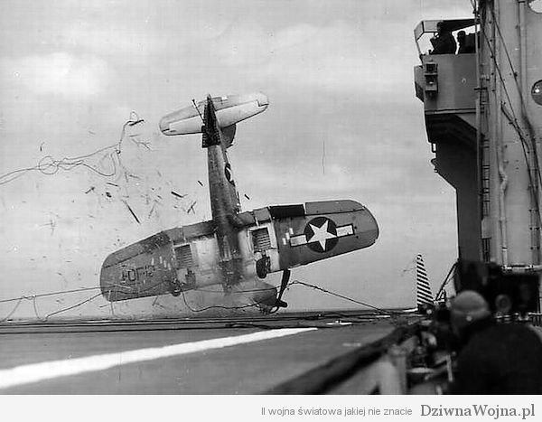 Vought F4U Corsair crash