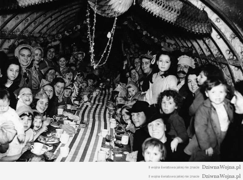 druga wojna swiatowa boze narodzenie londyn 1940