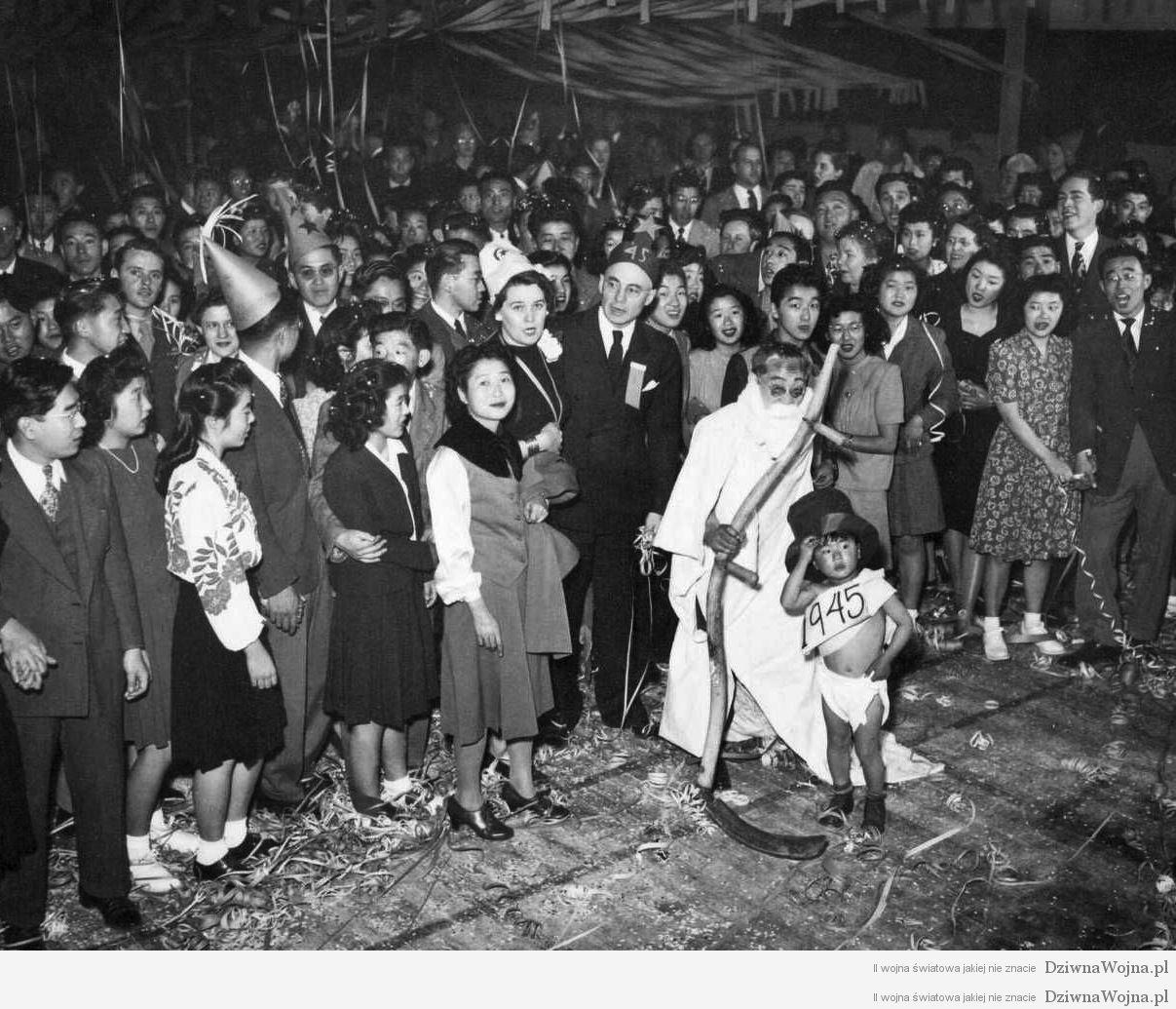 japonscy imigranci w usa sylwester 1944