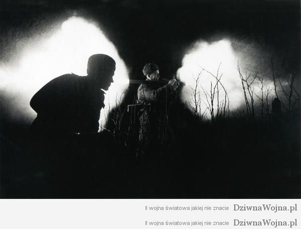 nocny ostrzal