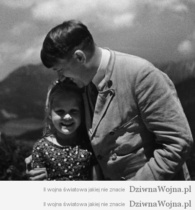 """""""Der FÅhrer mit der Jugend"""" (Adolf Hitler mit kleinem MÑdchen)"""