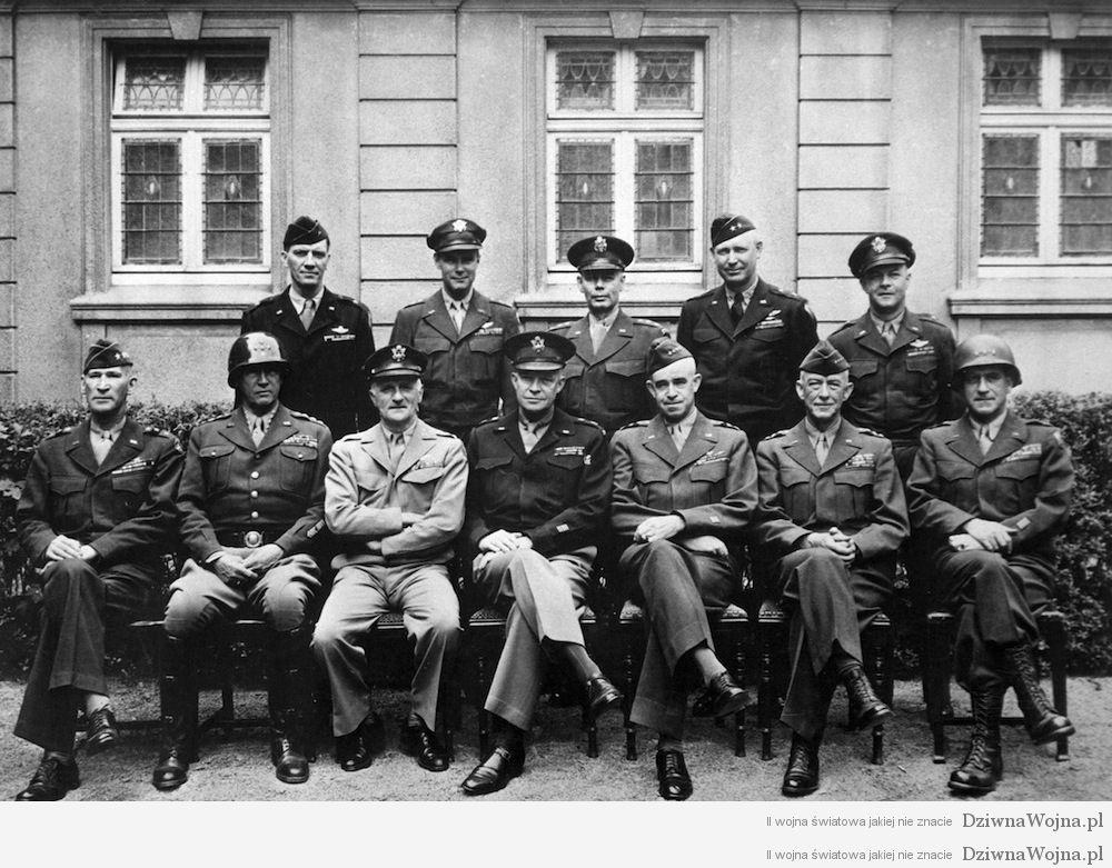 Amerykanscy generalowie II wojna swatowa