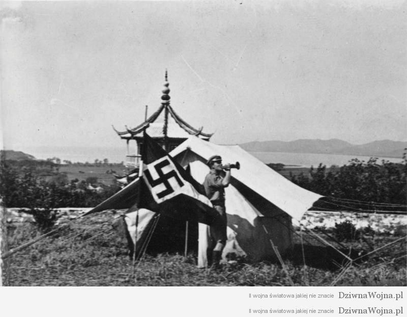 Hitlerjugend oboz chiny 1935