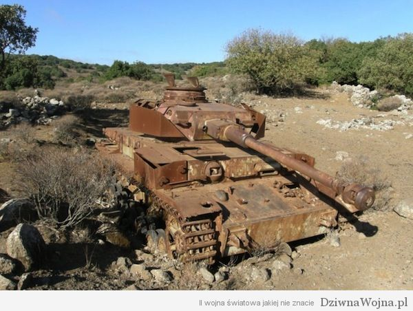 Panzer IV na pustyni