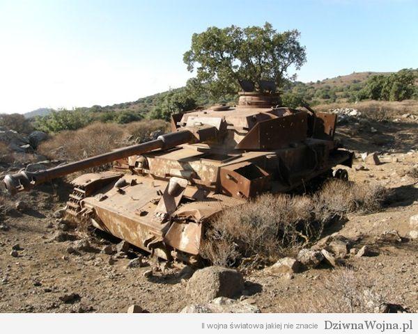 Panzer IV w Syrii