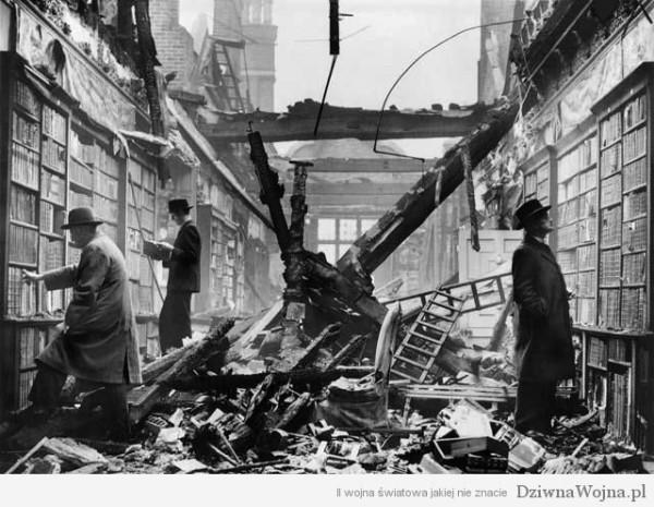 londyn ii wojna swiatowa milosnicy ksiazek w bibliotekach