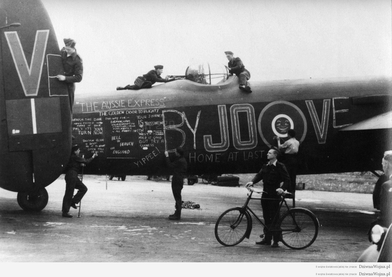 raf lancaster lm309 jo-v1944