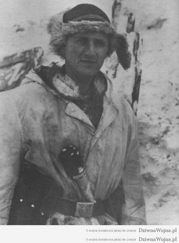 Norweski podoficer, służący w niemieckiej dywizji Wiking