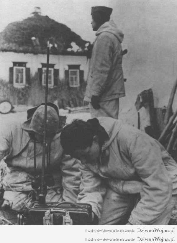 Stanowisko lacznosci radiowej SS Westland
