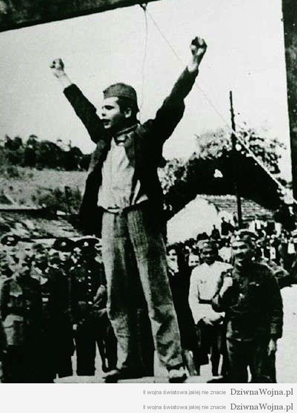 Stjepan Filipovic egcekucja 22 maja 1942