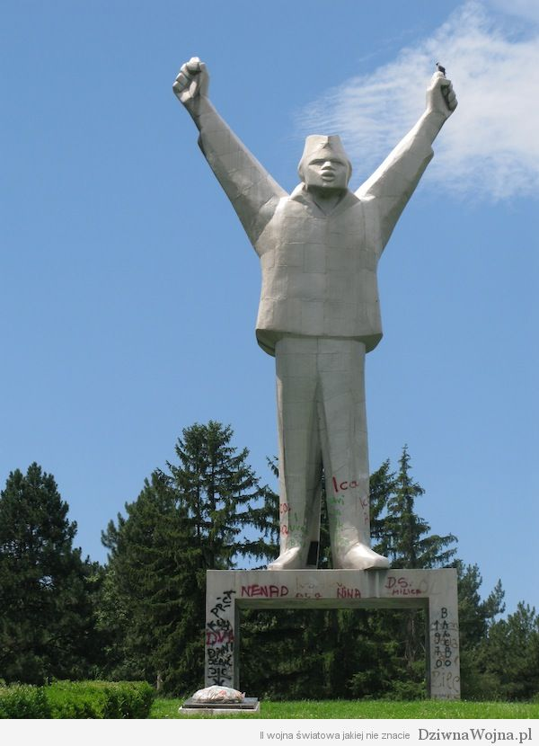Stjepan Filipovic monument Valjevo