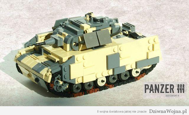 lego panzer III