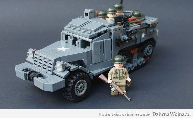 lego world war car