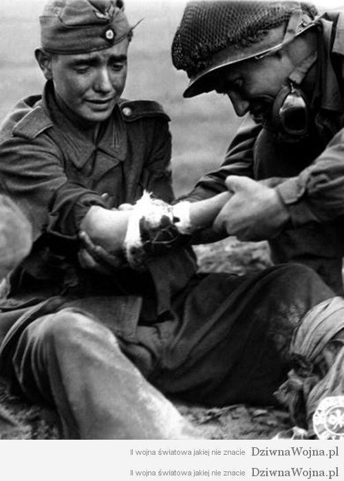 Amerykanin pomaga niemcom 1944