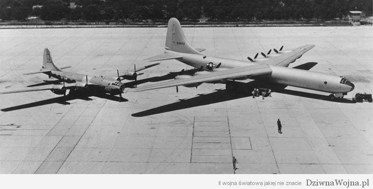 B-29 (z lewej) i B-36