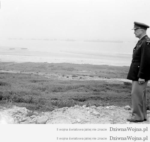 WWII DDay Anniversary Eisenhower 1951
