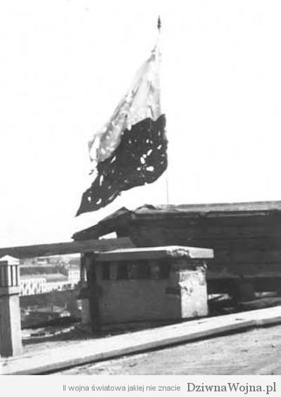 Polska Flaga Powstanie warszawskie 1944