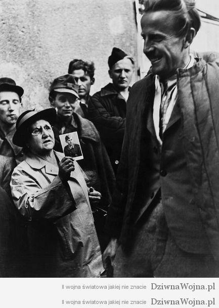 Matka szuka syna wsrod jencow wojennych 1947