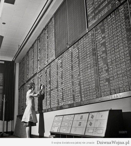 swiat przed era komputerow Chicago 1943