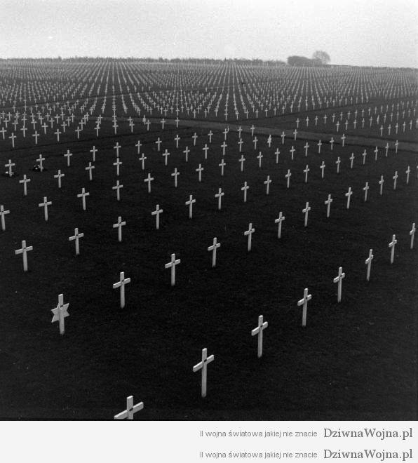 Cmentarz Henri-Chapelle Belgia 1946