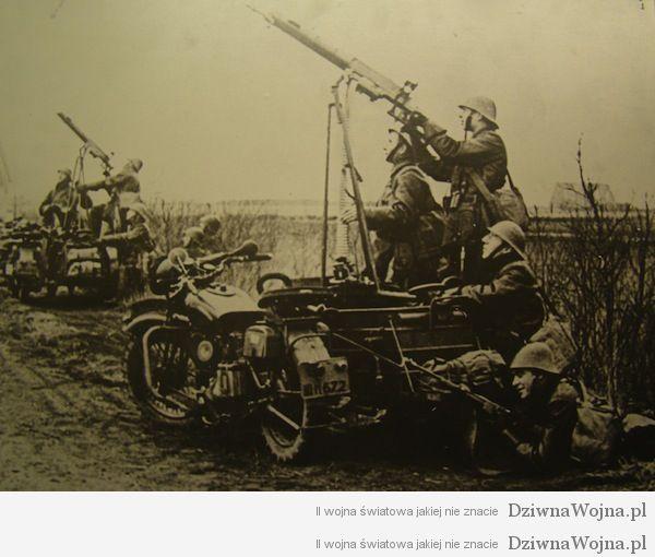 przeciwlotnicze motocykle 1940