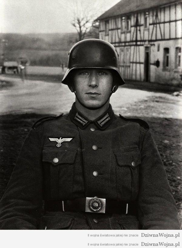 Niemiecki zolnierz 1940, August Sander