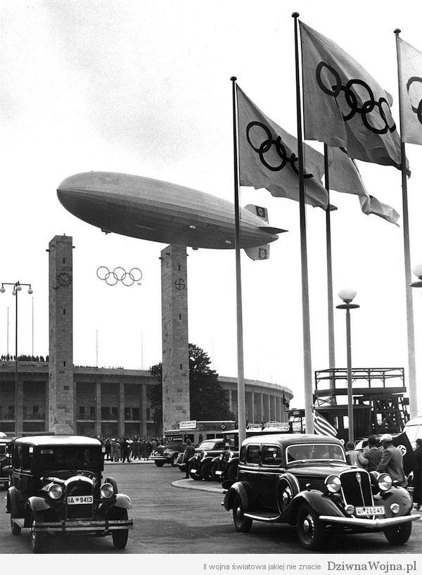 Hindenburg otwiera Igrzyska Olimpijskie (1936)