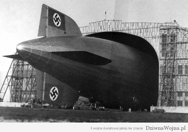 Lakehurst Hindenburg Hangar 1