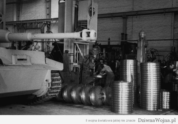 Linia produkcyjna PzKpfw VI Tygrys