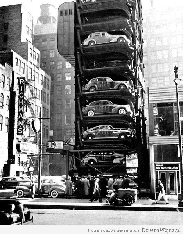 Mechaniczny parking w Chicago 1941