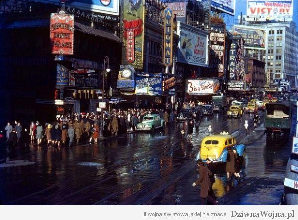 Nowy Jork w latach 40-tych