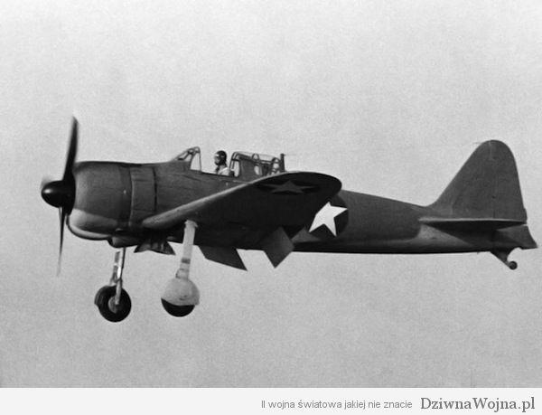 Mitsubishi A6M Reisen Zero w amerykanskich barwach 1942