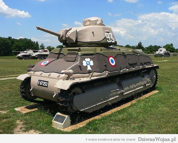 Czolg sredni Somua S-35 muzeum