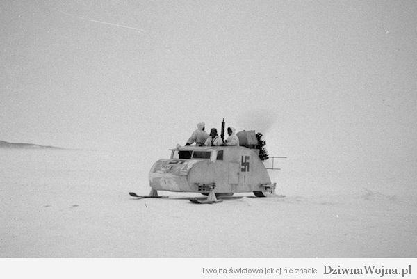 Finskie sanie rodem z Hoth 1940