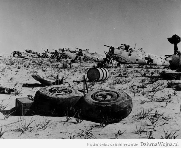 Messerschmitt Bf 109 w Afryce Tobruk 1942 roku