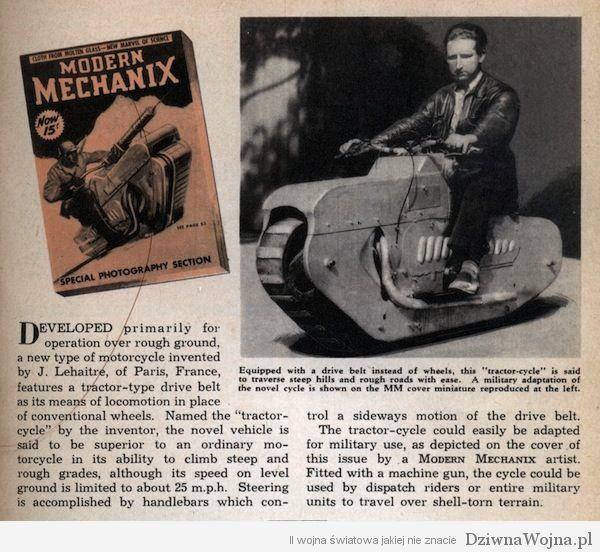 Motocykl-gasienicowy-Francja-1938