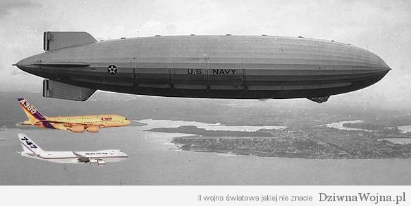 USS Macon vs A380 vs B747