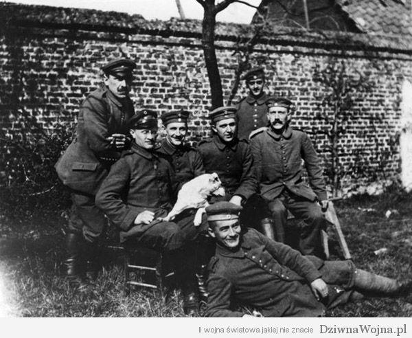Adolf hitler 1 wojna swiatowa