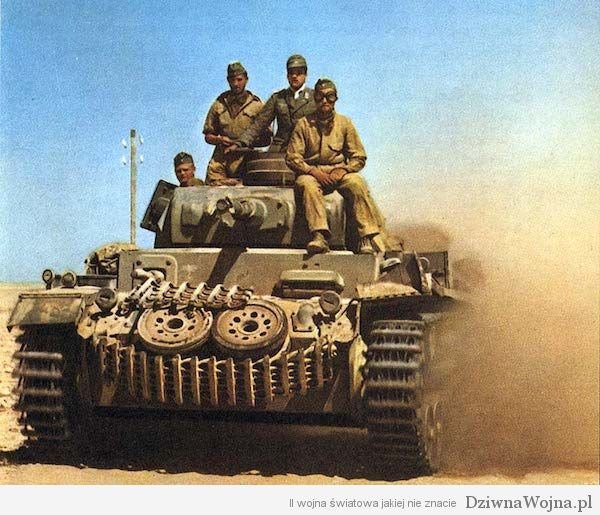 PzKpfw III medium tank in North Africa