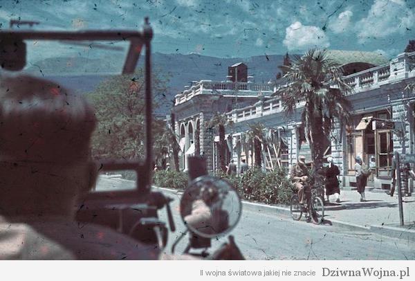 Krim, Simferopol, Kameramann im PKW