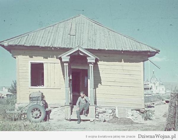Bei Stalingrad, Soldat in Ortschaft