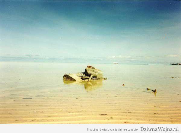 Wyspa Betio na atolu Tarawa
