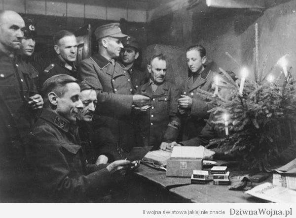 German Volkssturm soldiers in Christmas 1944