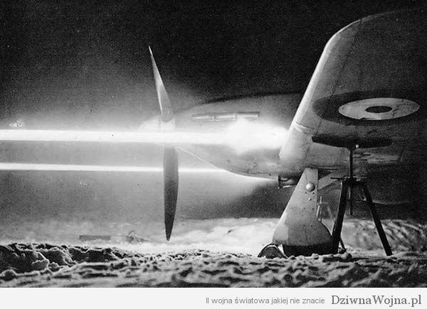 Hawker Hurricane karabin maszynowy Browning kal. 7,7
