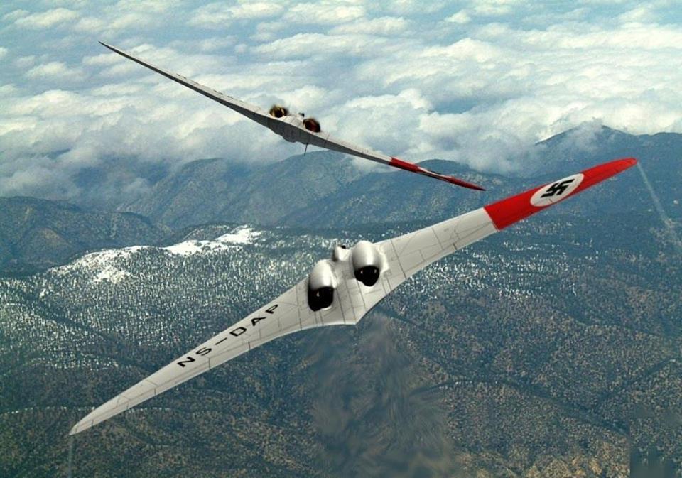 Horten Ho 229 latajace skrzydlo