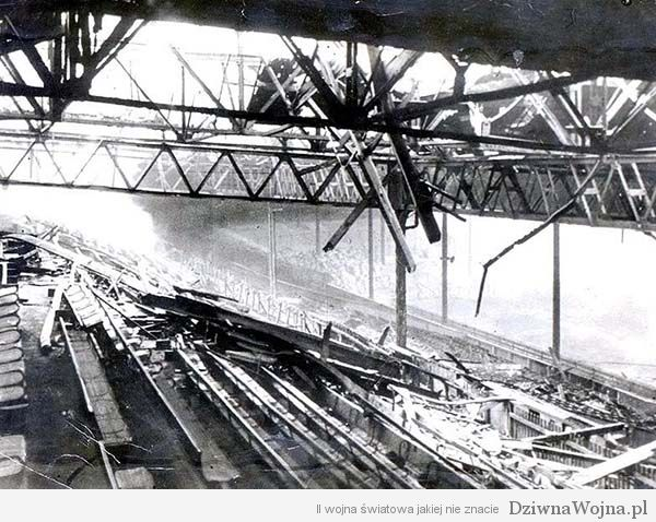 Old Trafford Manchester United Luftwaffe 1941